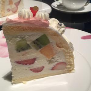 10月中限定、京王プラザホテルのあいぼりーケーキセット