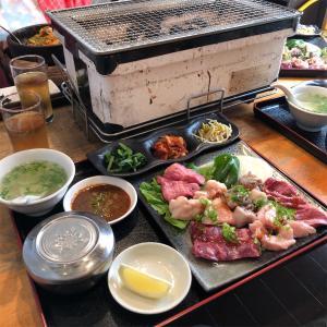 久々の焼肉ランチ 〜キムチ&珍味 本場やまもと〜