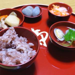お食い初めの簡単なやり方。お祝い膳の簡単レシピと歯固め石の準備など。