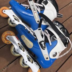 休日はインラインスケート