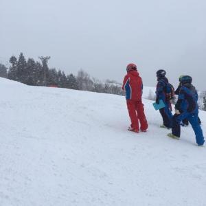 テクニカルプライズ受験記 その3 2019年2月 野沢温泉スキー場