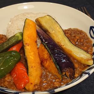 大和野菜のキーマカレー:奈良から出れないおうちごはん