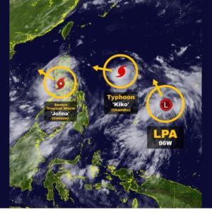 フィリピン付近にある台風が2つ→3つになる?!