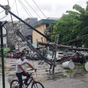 台風13号のフィリピンの被害状況