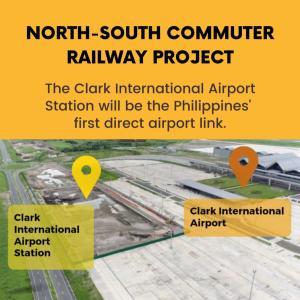 フィリピン初の空港直結駅の工事着工