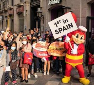 Jollibeeがスペイン第1号店をマドリードにオープン