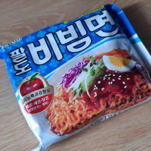 最近はまっている韓国麺