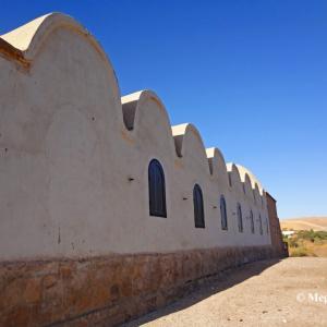 宇宙との交信・・・砂漠の中のヌビア建築 in エジプト