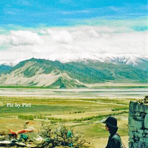 曼陀羅(マンダラ)になっている村で瞑想 in チベット