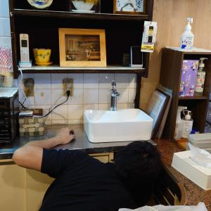 飲食店に手洗い場設置