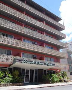 (37)ワイキキのホテル - Royal Grove Hotel