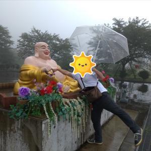 202109伊香保温泉旅行その3(佛光山法水寺へ。階段編)