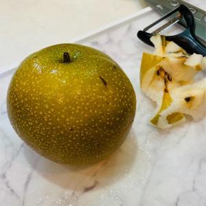 【レシピ】簡単!梨のコンポート