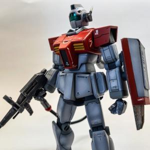 【ガンプラ制作記】HGUC RGM-79ジム【ミキシングその他改修】