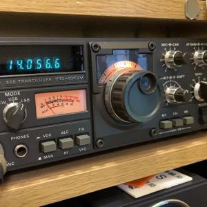 TRIO TS-120V(HF SSB&CWトランシーバー)
