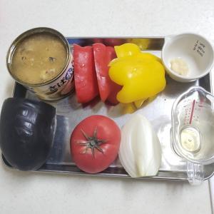 サバの水煮缶とトマトを使ったアクアパッツァ