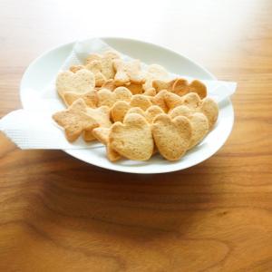 米粉で作る型抜きクッキーの作り方(プレーン)