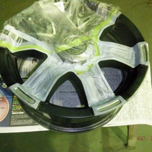 NV350と釣りと自転車  その7  冬場スタッドレスホイール損傷部修理
