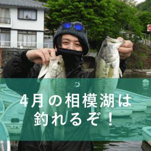 4月25日 B-CLUBバス釣り大会 相模湖戦は3位でした!