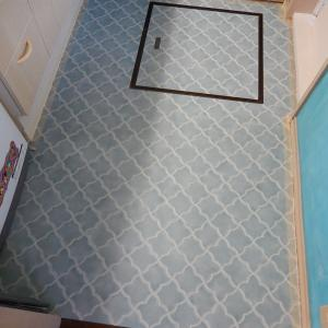 洗面台の壁・床をモロッカンタイル風に思い切ってDIYー後編