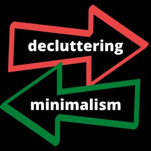 【真逆】ミニマリズムと整理・断捨離は似て非なる。ミニマリズムで人生が変わる理由がここにある。