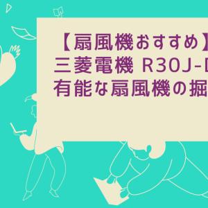 【扇風機おすすめ】三菱電機 R30J-DDYは有能な扇風機の掘り出し物