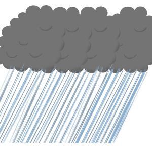 大雨、台風の時の用水路の見回りはやめないと!