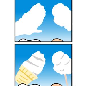 夏の雲はおいしい