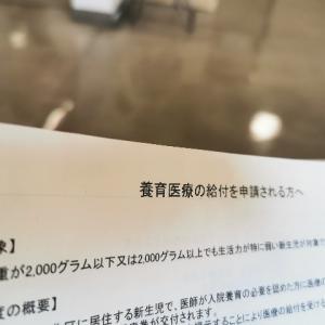 養育医療の給付申請【2021.08.03】