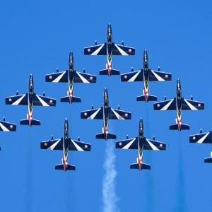 【エアタトゥー】イタリア空軍「フレッチェ・トリコローリ」のアクロバット飛行/RIATにて