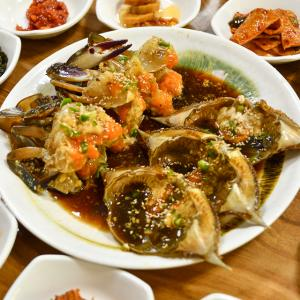 【ケジャン】ワタリガニの醤油漬け「カンジャンケジャン」を仁川で味わう
