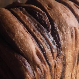 チョコマーブルのパン