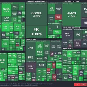 【9月23日】米国株市場の株価情報