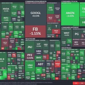 【10月15日】米国株市場の株価情報_ウェルズファーゴの急騰+6.7%