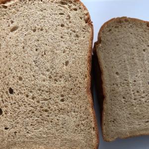 パンの話題が続きますが念願のブランパンが焼けました