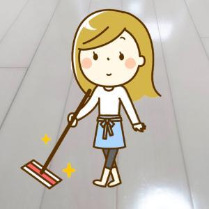簡単に自分で出来る自宅フローリングのワックス掛け~お部屋の大掃除をやってみた~