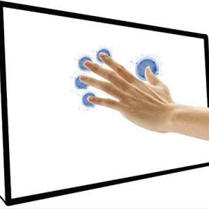 【簡単取り付けタッチフレーム】自宅のモニターをタッチパネルに【お子様とお絵描き】