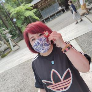 三峯神社 去年も一緒にきてくれた人が二人も夢を叶えちゃった