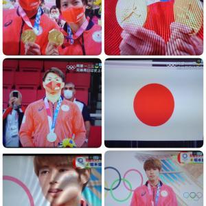 ☆『東京オリンピック2020』今日閉会式ですね☆日本選手大活躍〜\(^o^)/♫感動をありがとう