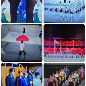 『東京オリンピック2020』閉会式見ましたか〜袴姿☆宝塚歌劇団☆素敵です