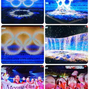 『東京オリンピック2020』閉会式♬♫♪五輪マークキレイ〜♡