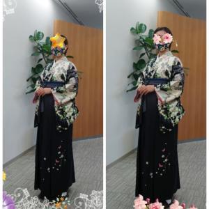 女袴練習しましたぁ〜(^o^)v