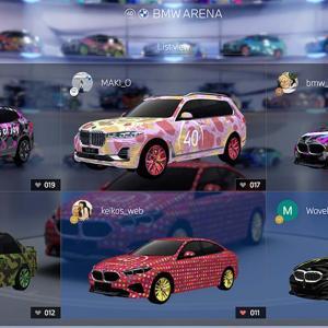 BMW Japan40周年イベントのCOLLECTION AREAでWeb係号が大変なことになっている件(汗)