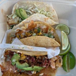 おすすめの海鮮タコス、Rubio's Coastal Grill