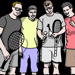 英語オンリーなテニスオフ