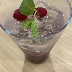 2人の打ち上げカシスソーダ  Cassis soda for after-party for two