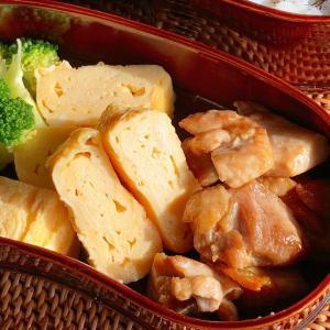 鶏もも肉のマヨ醤油炒め弁当!