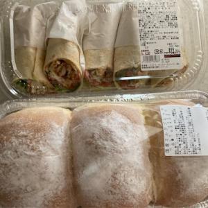 【コストコ】メキシカンサラダラップと国産ミルクブレッド