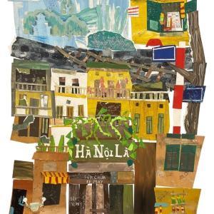 """""""Hà Nội là…"""" 「ハノイとは…」ハノイを一枚のイラストに現した作品"""