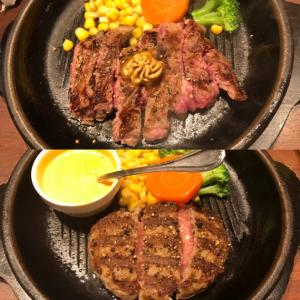 【いきなりステーキ】店舗が縮小の「今頃」初来店♡ベテラン勢の中でチーズハンバーグに挑戦!!